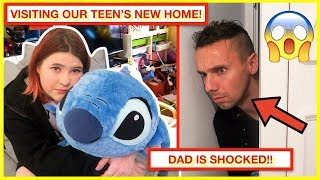 FIRST TIME SEEING OUR TEEN'S NEW HOME! 🏡 shock reaction! 😮
