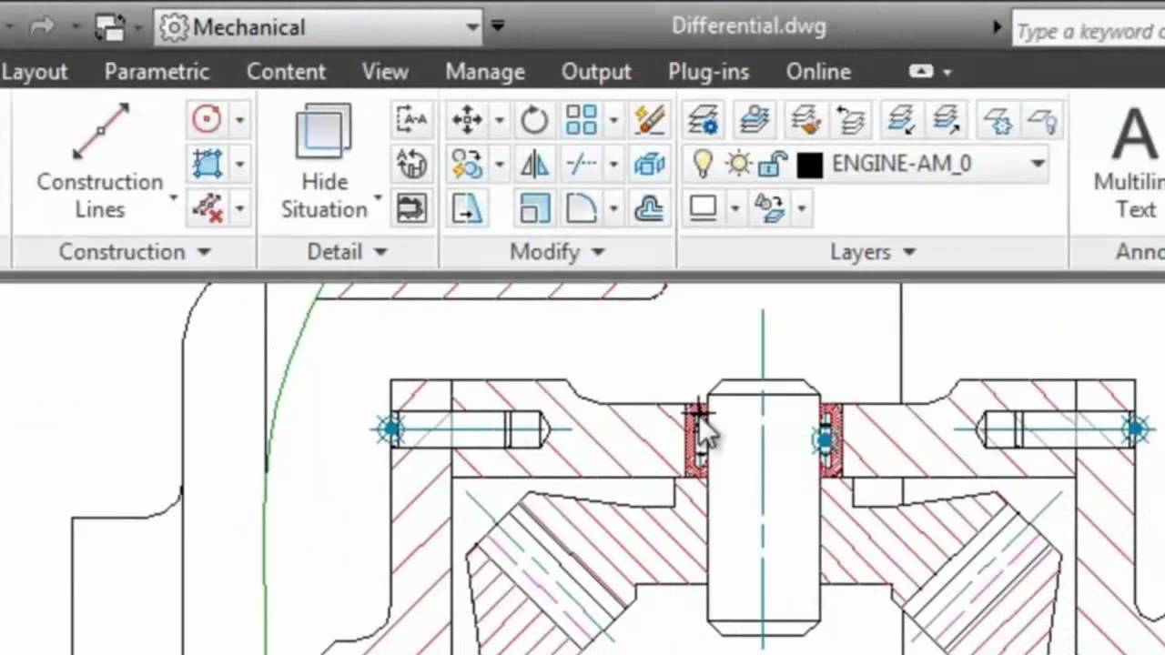 Dimensions: AutoCAD Mechanical 2013 - YouTube