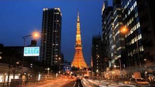 冬の東京タワーのライトアップ(ランドマークライト&ダイヤモンドヴェ...