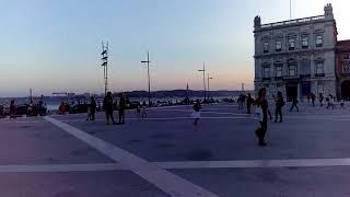 Памятник Жозе 1, мост 25 апреля, статуя Христа, площадь коммерции, Лиссабон.