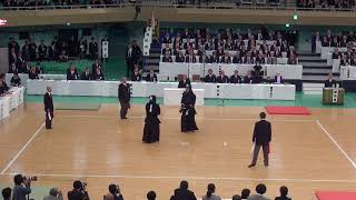 65th All Japan Kendo Championship 17   Round 1, Okido vs Shionoya