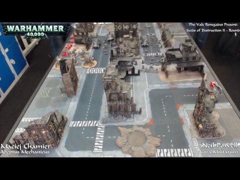 Warhammer 40,000 - Seeds of Destruction II - Day One - 23/09/17 - Firestorm Games Cardiff