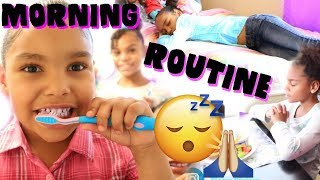 OUR WEEKEND MORNING ROUTINE!!!