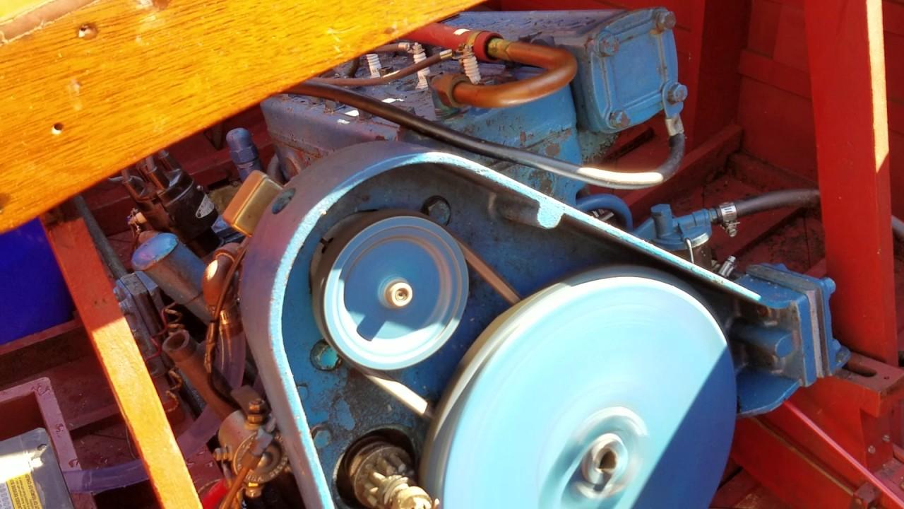 1936 Chris Craft Model B Engine