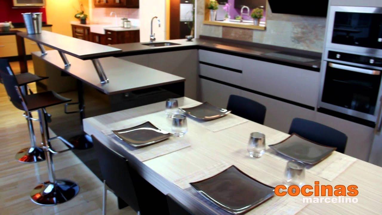 Cocinas, venta e instalacion de muebles de cocina - YouTube