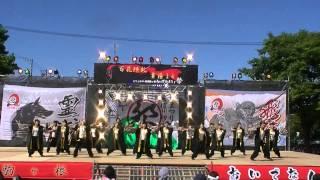 「飯田女子短期大学 乱舞咲」 どまつりin信州駒ヶ根おいでなんしょ祭2014