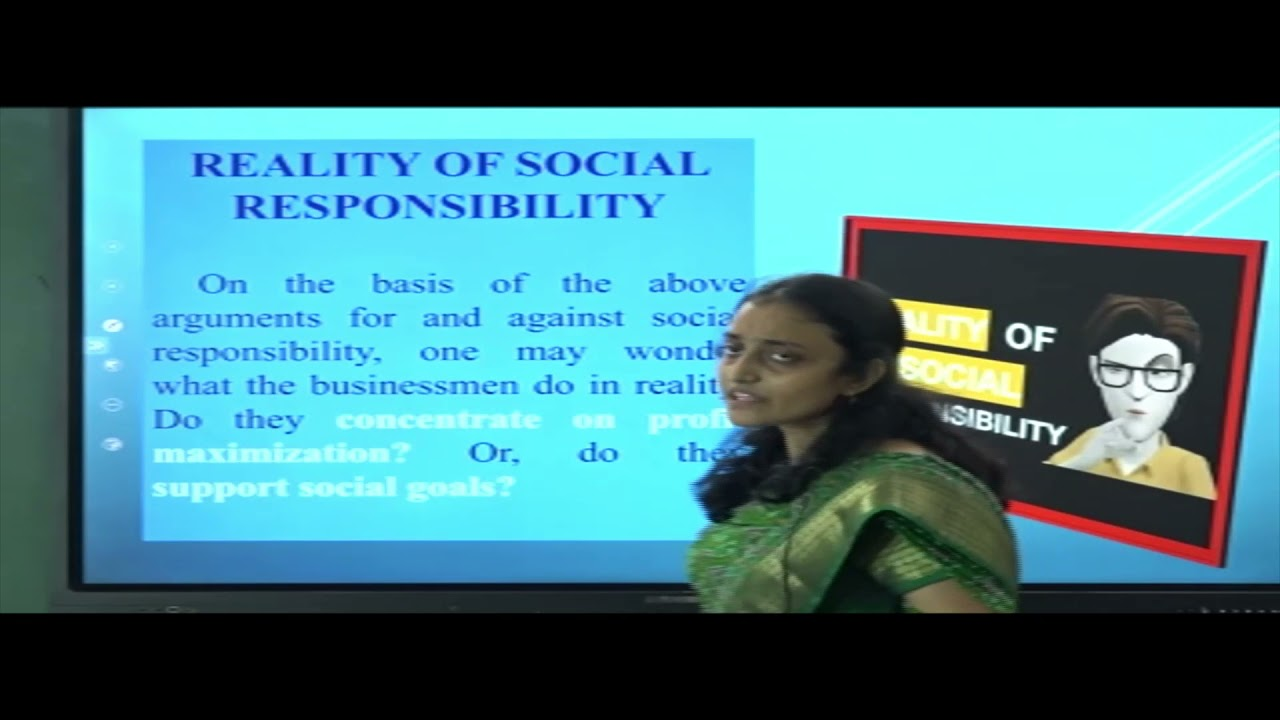 I PUC   BUSINESS STUDIES    SOCIAL RESPONSIBILITIES OF BUSINESS & BUSINESS ETHICS - 02