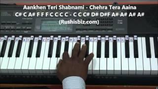 Tuhi Meri Shab Hai Piano Tutorials - Gangster