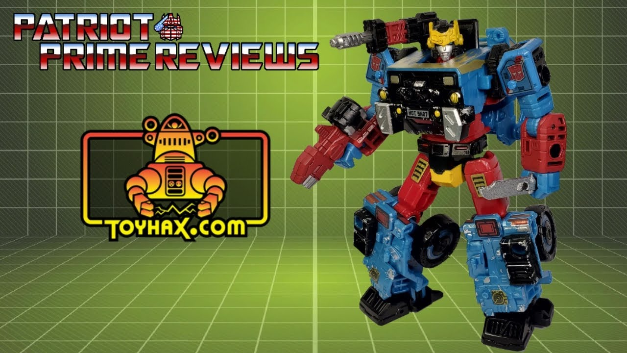 Toyhax Decal Set for Generations Selects Hot Shot By Patriot Prime Reviews
