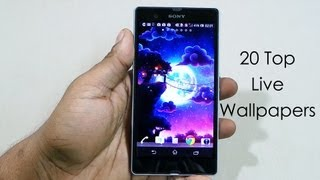 20 Best Live Wallpapers (Free) for Android (Xperia Z) - 2013 - Android Tips #7 - Cursed4Eva.com