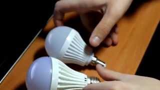 Светодиодные лампы для дома дешево(Ищите где купить дешевые лампочки? Покупайте в Китае и не тратьте деньги за рекламу брендов! Разбор лампоче..., 2014-11-22T13:52:26.000Z)