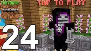 Minecraft: Servers - Gameplay Walkthrough Part 24 - Death Tag (iOS, Android)