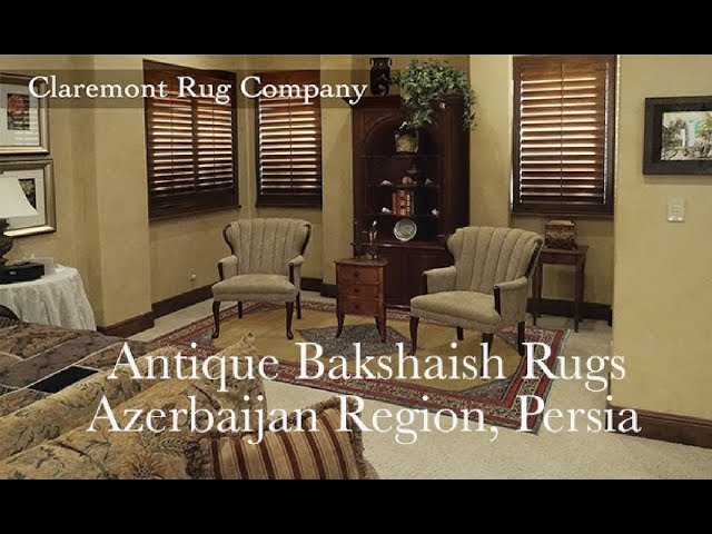 Antique Persian Bakshaish Rugs