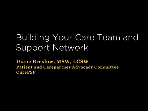 Building Your Care Team and Support Network