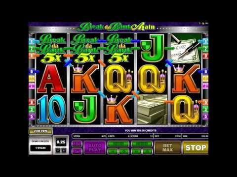 Обзор игрового автомата Break Da Bank Again (Сорви Банк Снова) от Microgaming - GMSlots