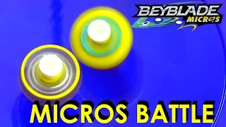 Beyblade Burst by Hasbro Micros Wave 2 βaderov VS Caynox Battle