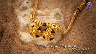 Buy Wati Gold Mangalsutra | Traditional Maharashtrian  Designs | PNG Online Store