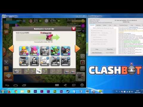 Clash Of Clans Bot Download   Start Becoming Rich Today