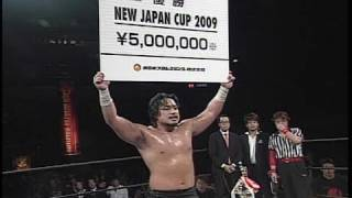 NJPW GREATEST MOMENTS NEW JAPAN CUP SPECIAL 2009.03.22 GOTO vs BERNARD