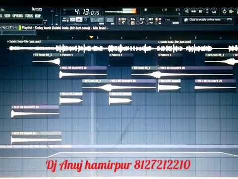 Jalebi Juda Haryanvi sapna chudhary Hard Chunky Bass Mix Dj Anuj