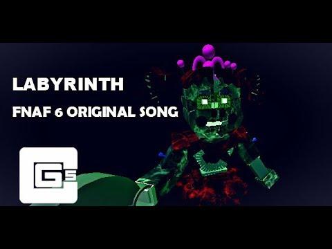 "FNAF 6 SONG ▶ ""Labyrinth"" | CG5 Roblox*"