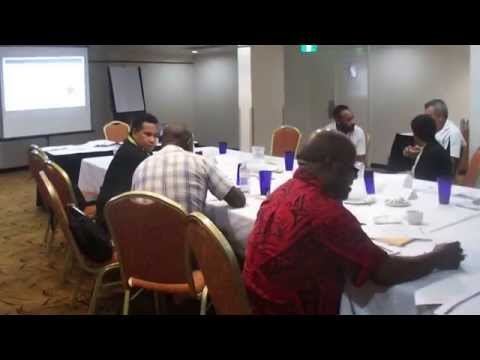 Business Case Workshop in Port Moresby, PNG