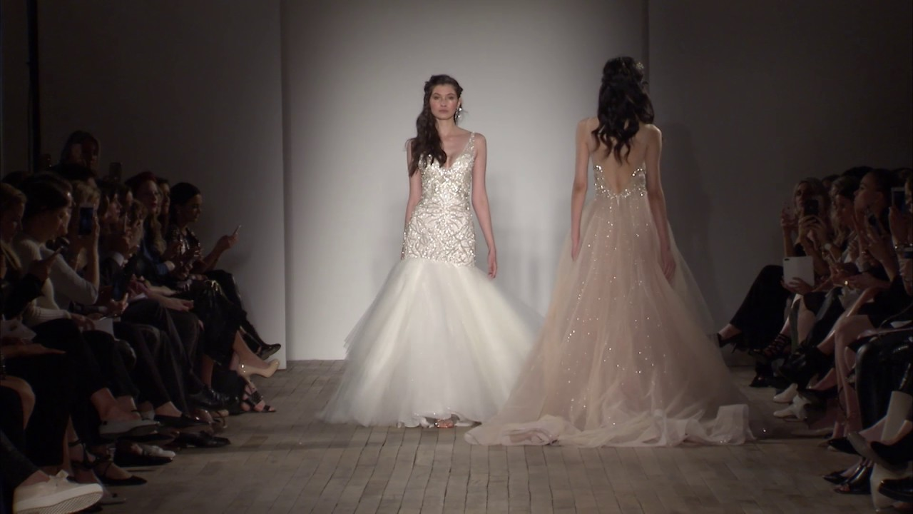 8808b976db48 Lazaro Fall 2017 Bridal Collection - YouTube