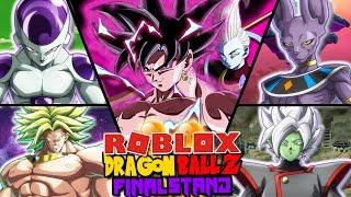 NEUE GOTT DER DESTRUCTION FORM *DESTROYS* ALLE BOSSES IN DBFS! | Roblox: Dragon Ball Z Final Stand