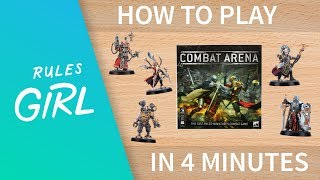 How To Play Combat Arena In 4 Minutes - Rules Girl