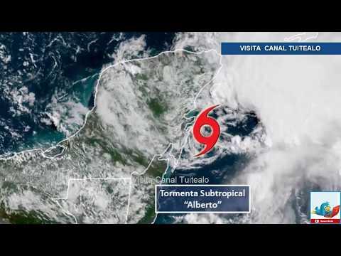 Alerta Amarilla En Quintana Roo Por Tormenta Subtropical Alberto Video