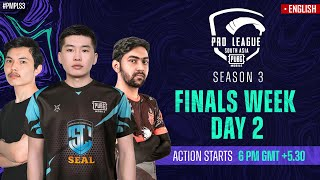 [EN] 2021 PMPL South Asia Finals  Day 2 | S3 | Will Pakistan Squads get into the Top 8?