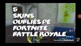 Top 5 Most Forgotten Fortnite Skins by neox lts