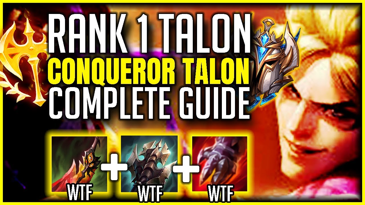 Talon Build Guide Season 11 Become A Challenger Talon L Best Talon World League Of Legends Strategy Builds
