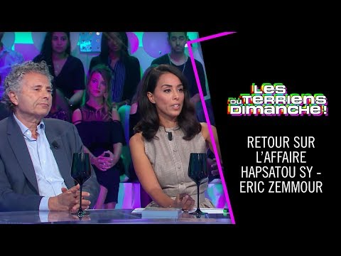 Retour sur l'affaire Hapsatou Sy - Eric Zemmour - Les Terriens du Dimanche - 22/09/2018