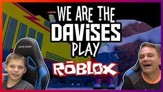 Tyler Is Banking | Roblox Jailbreak EP-47 | We Are The Davises Gaming