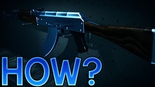 CSGO: Wie Bekommt man einen 100% Blau/Violett/Gold-Edelstein-AK-47