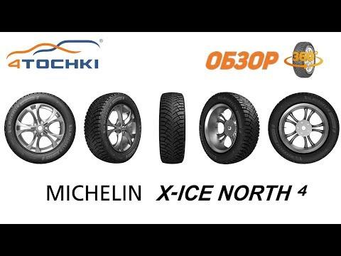 Зимняя шина Michelin X-Ice North 4. Обзор 360.