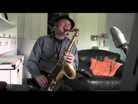 Blue and Sentimental - jazz ballad on Tenor Sax