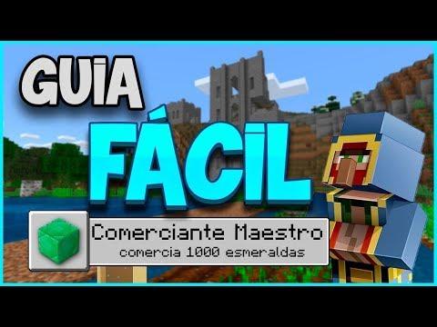 COMERCIANTE MAESTRO LOGRO FÁCIL MINECRAFT Pe/One/Switch/Pc