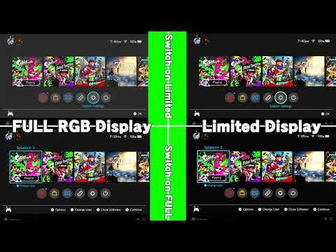 RGB RANGE COMPARISON