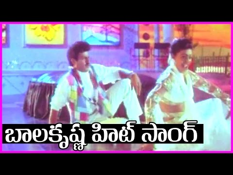 Balakrishna Superhit  Song - Bobbili Simham Video Song || Roja | Meena