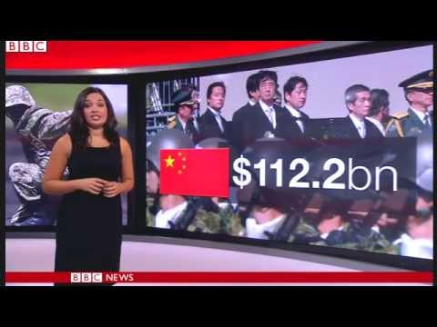 BBC News   Japan defence ministry makes largest ever budget request