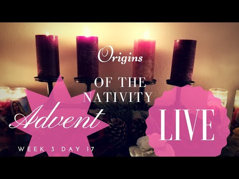 Origins of the Nativity Scene