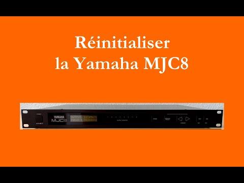 Réinitialiser la Yamaha MJC8 (How to init Yamaha MJC8 - english subtitles available)