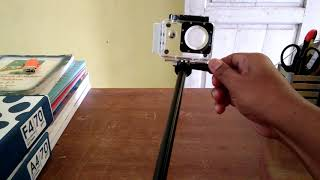 Cara Memasang Waterproof Action Camera Pada Monopod
