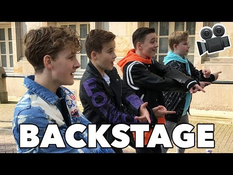 #44 VIDEOCLIP 'LOVE ME' BACKSTAGE | JUNIORSONGFESTIVAL.NL🇳🇱