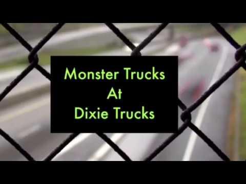 Monster Trucks at Dixie SpeedWay