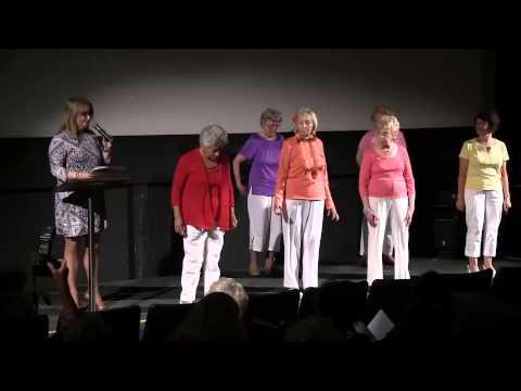 Huntington Ny Senior Center Talent Show 2014 Part 1