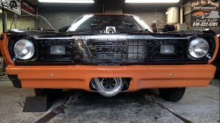 Procharged HEMI Duster Dyno Shook The Building!