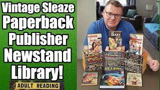 Vintage Sleaze Paperback Publisher Newstand Library Books - Is Collecting These A Sin!?